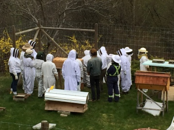 First Beginner Beekeeper Course Field Day 2017