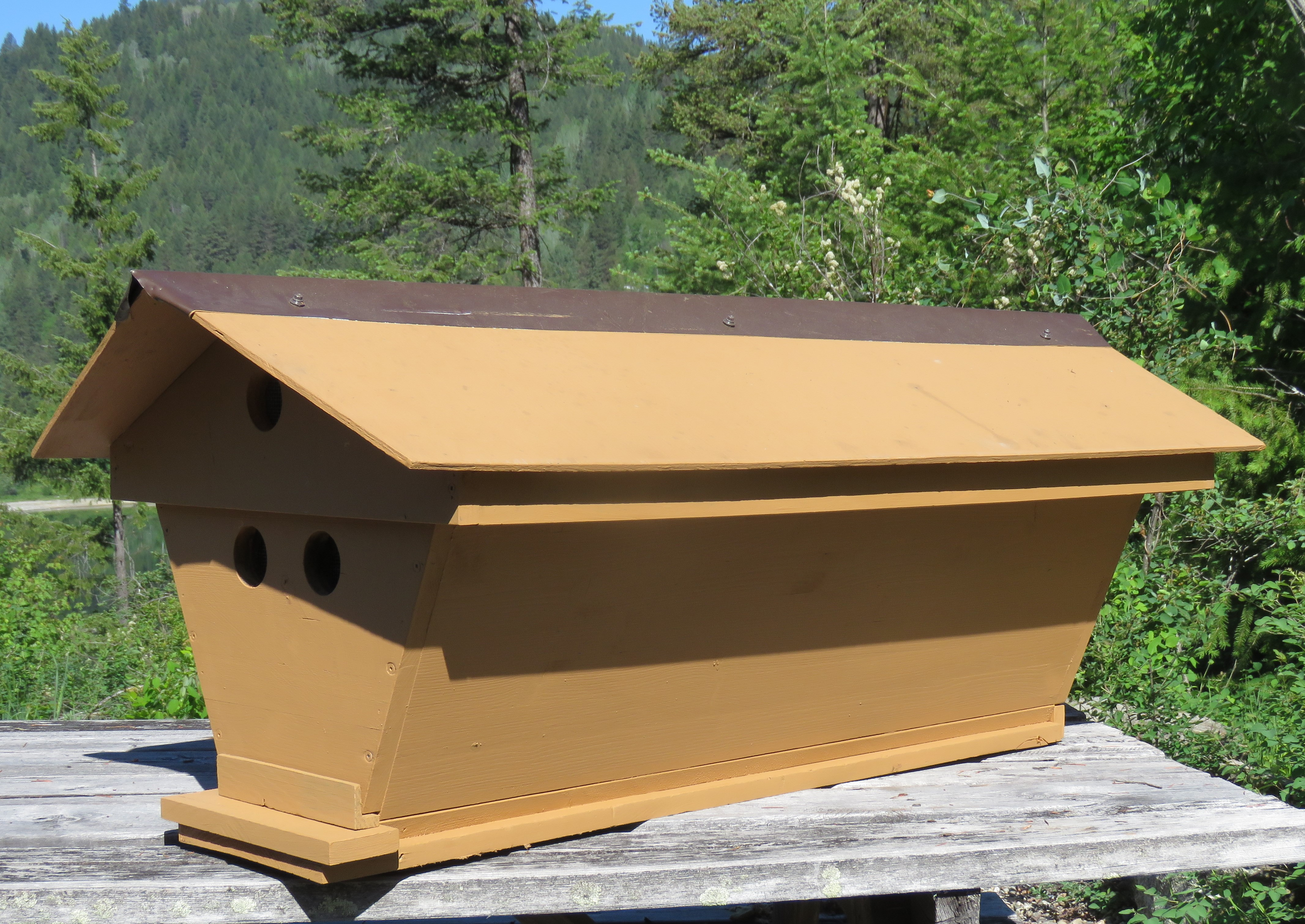 Top Bar Bee Hives for Sale - West Kootenay Beekeepers